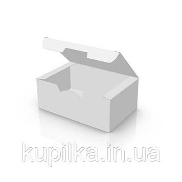 "Картонная упаковка снек бокс ""Мини"" Белая"