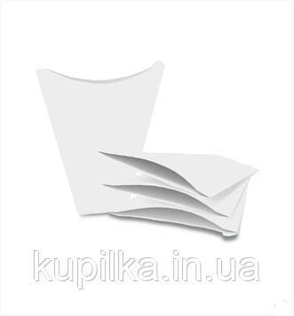 """Картонная упаковка для блинов """"Макси"""" белая"""