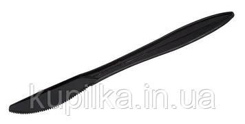 Нож пластиковый черный