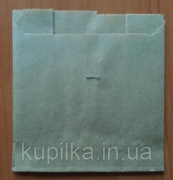 Упаковка для картофеля фри маленькая Бурая (70-100г) 933