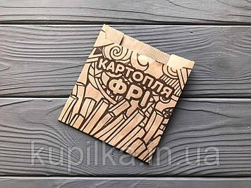 Упаковка для картофеля фри средняя (100-150г) 33Ф