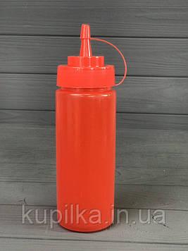 Диспенсер для соусов и сиропов 350 мл. Красный