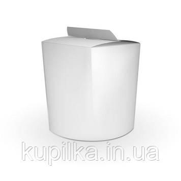 Коробка для лапши и салатов 900 мл. Белая