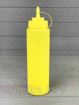 Диспенсер для соусов и сиропов 700 мл. Жёлтый