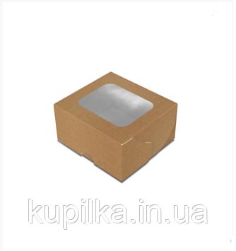 """Картонная коробка для суши """"Мини"""" крафт"""