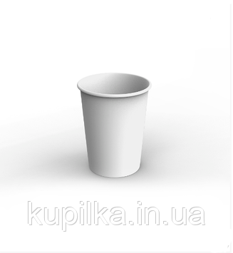 Картонный стакан 1 Л белый