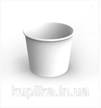 Картонный стакан 2,5 Л белый