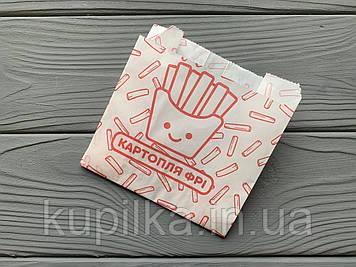 Упаковка для картофеля фри средняя (100-150г) 210Ф