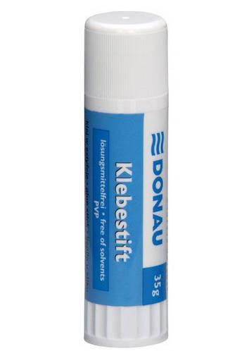 Клей-карандаш 35гр Donau (PVP) 6605001PL-09