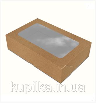 "Картонная коробка для суши ""Макси"" крафт"