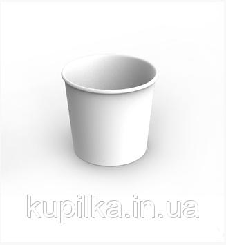 Картонный стакан 0,7 Л белый