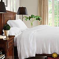 Полуторный постельный комплект, цвет: белый