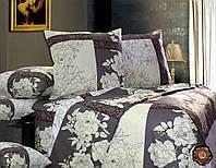 Полуторный постельный комплект Б0327 , цвет: серый, белый