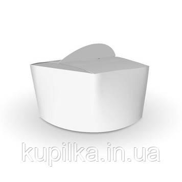 Коробка для лапши и салатов 1,2л. Белая