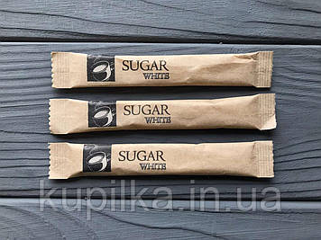 Сахар в стиках 100 шт крафт