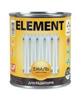 ELEMENT (Элемент) Эмаль акриловая для радиаторов 2,5 л