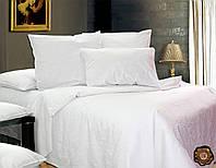 Семейный постельный комплект, цвет: белый
