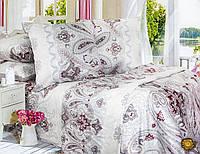 Семейный постельный комплект, цвет: бежевый