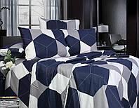 Семейный постельный комплект, цвет: серый
