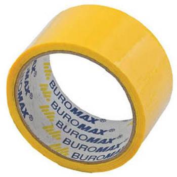 Скотч упаковочный 48мм*35м Buromax BM.7007-** цветной_Желтый