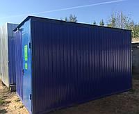 Мини АЗС 10 м³ контейнерного типа. Емкость, цистерна для ГСМ, топливный модуль. ДОСТАВКА
