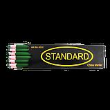 Восковий олівець для ремонту взуття STANDARD кол.чорний, фото 2