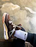 "Кроссовки Nike Air Jordan 4 Mid OFF WHITE ""BROWN"", фото 10"