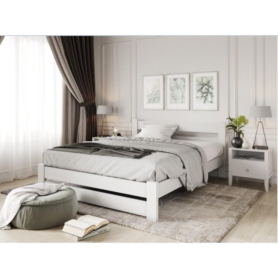 Ліжко дерев'яна Барселона