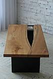 Стол, дубовая столешница , фото 2