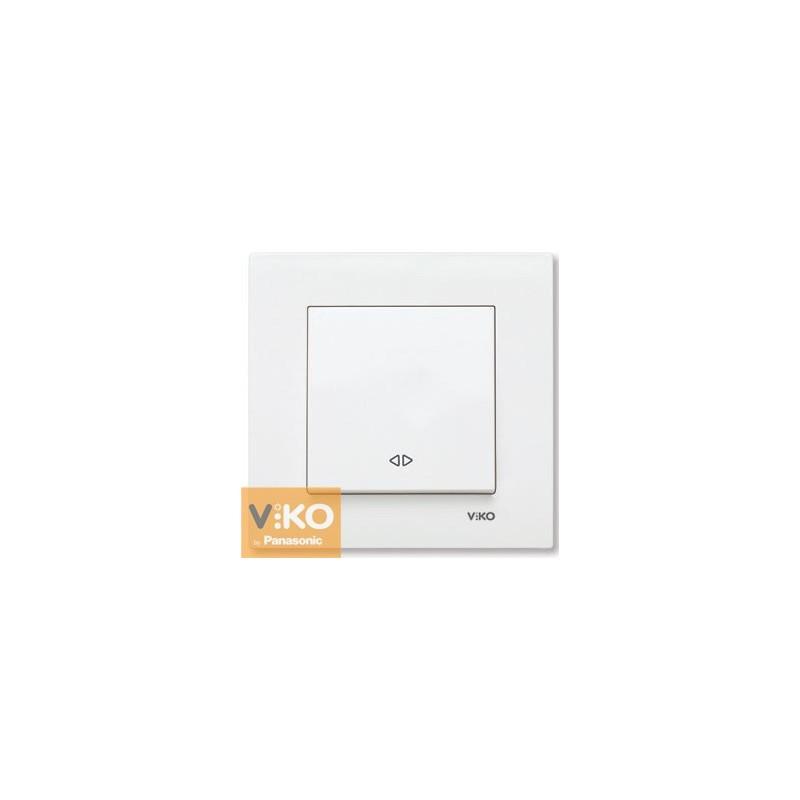 Вимикач реверсивний VIKO Karre - Білий