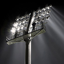 Мачта стадионная 37 метров под 46 светильников