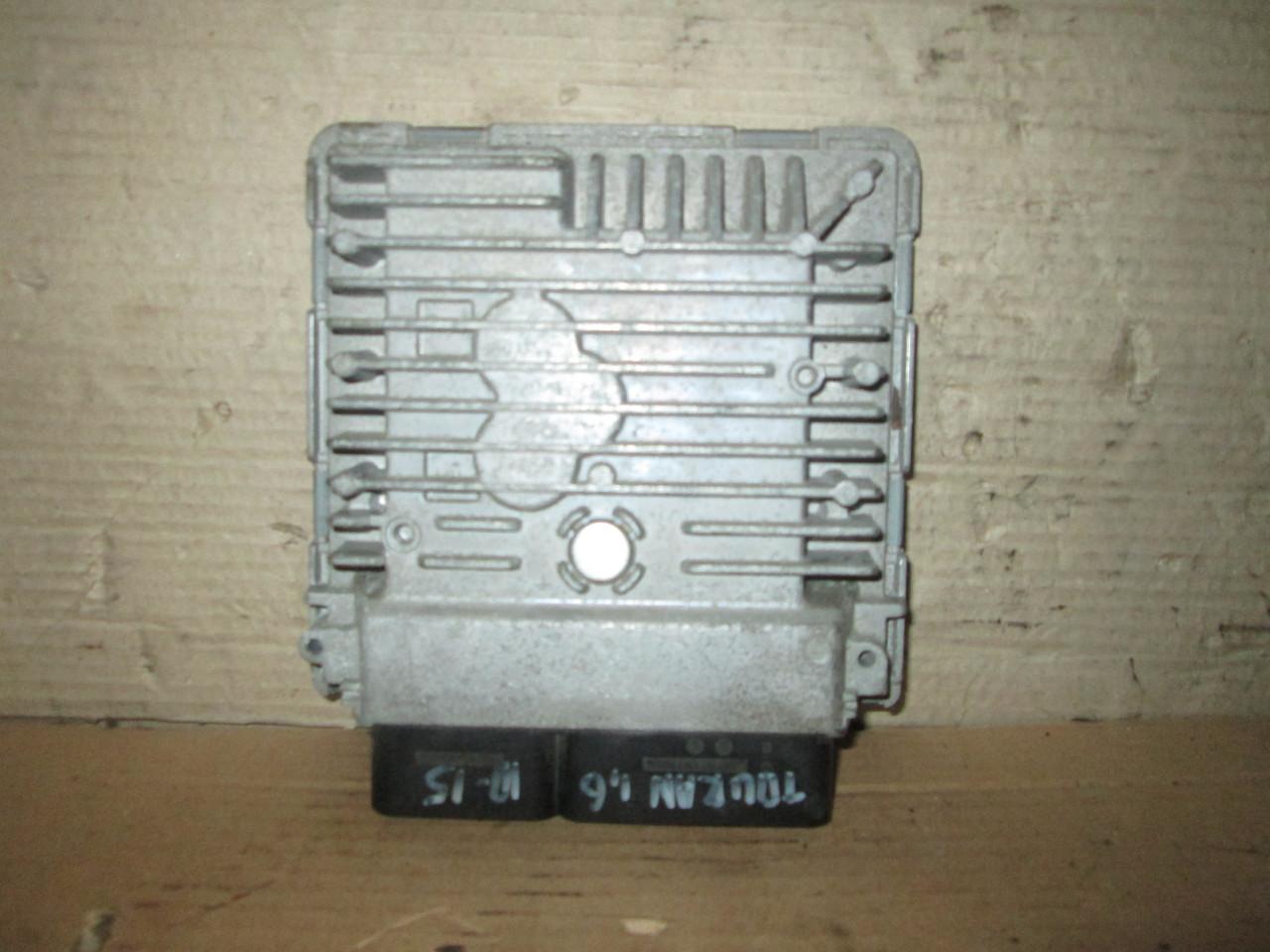Б/у Блок управління двигуном  1,6   03L906023PG  для VW Touran 2010-2015