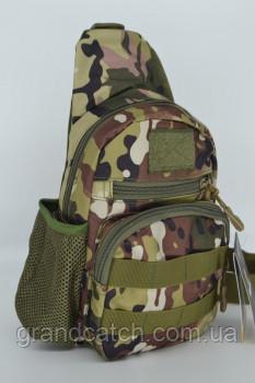 Рюкзак тактичний однолямочный Мультикам RT-835