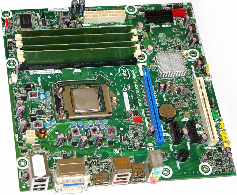 Комплект для складання ПК, Xeon X3450 2.66-3.20 GHz 4 ядра 8 потоків, 8GB DDR3