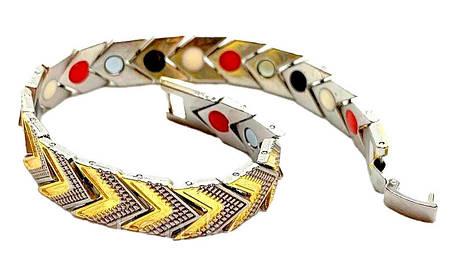 Широкий магнітний браслет, фото 2