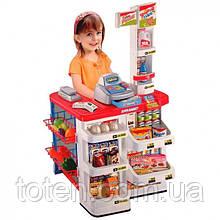 Супермаркет Магазин ігровий набір 82 см прилавок з касою і продуктами 668-02
