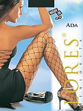 "Колготки крупная сетка Lores ""Ada"" - XS/S (1/2 размер) на рост 152-164см, на бедра 96-112см, Италия"