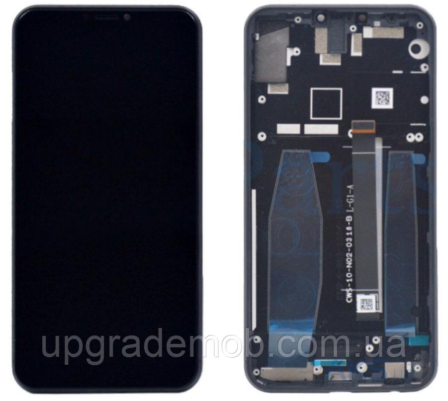 Дисплей Asus ZenFone 5 ZE620KL/ZenFone 5Z ZS620KL тачскрин сенсор, черный, в рамке, оригинал