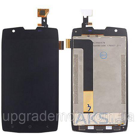 Дисплей Blackview BV7000/BV7000 Pro тачскрин сенсор, черный