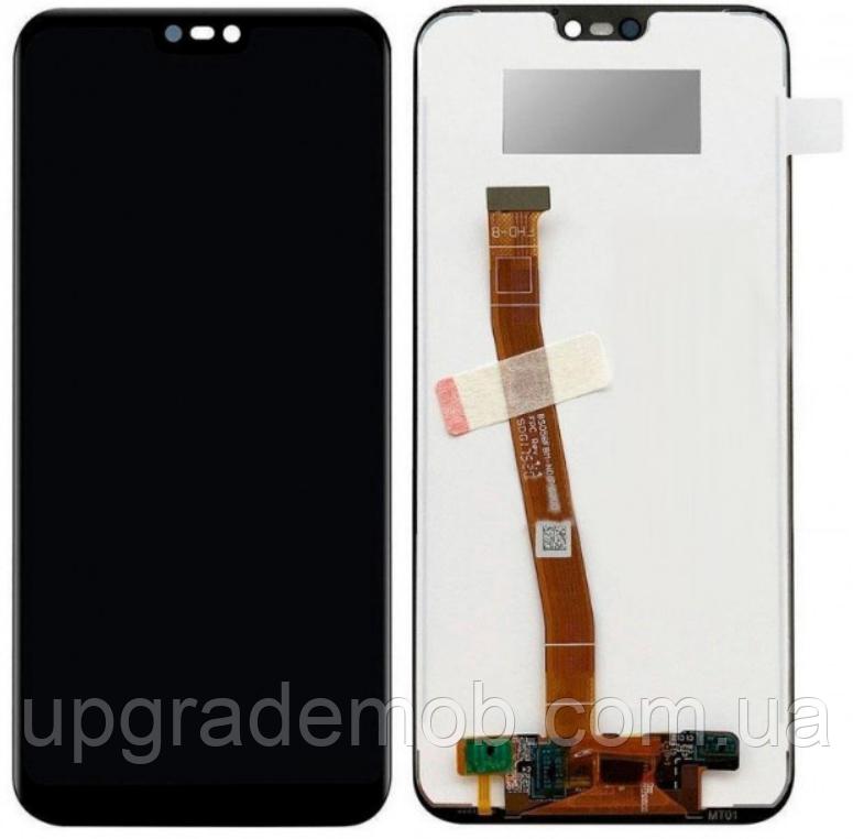 Дисплей Huawei P20 Lite 2019/P40 Lite/Nova 5i/Nova 6 SE/Nova 7i тачскрин сенсор модуль, черный, оригинал
