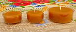 Набор для изготовления чайной свечи с содержанием воска 44г (контейнер чайной свечи, фиксатор фитиля, фитиль), фото 7
