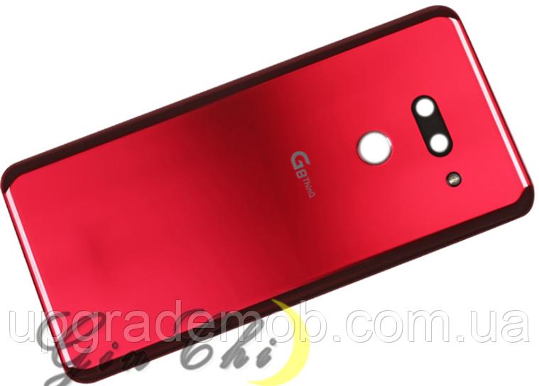 Задняя крышка LG G820 G8, красная, Carmine Red, оригинал