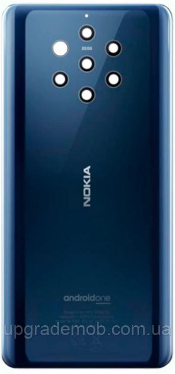 Задняя крышка Nokia 9 Pure View, синяя, Midnight Blue, оригинал