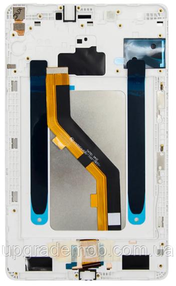 Дисплей Samsung T295 Galaxy Tab A 8.0 2019, версия LTE тачскрин сенсор, белый, в рамке, оригинал