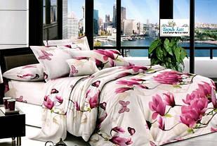Постельное белье Орхидея Бязь Gold размер полуторный комплект 150х215 см