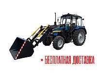 Быстросъёмный фронтальный погрузчик КУН на МТЗ-80, МТЗ-82, ЮМЗ (кун на трактор, погрузчик кун)