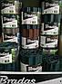 Бордюрная лента садовая волнистая коричневая Bradas 15см х 9м, фото 6