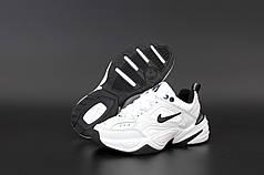 Мужские кроссовки Nike M2K Tekno White . ТОП реплика ААА класса.