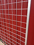 Торговая сетка решетка ячейка 5 см серый металлик под заказ от производителя, фото 4