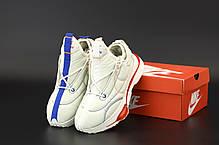 Мужские кроссовки MACCIU x Nike Zoom Type. Белые. ТОП Реплика ААА класса., фото 2